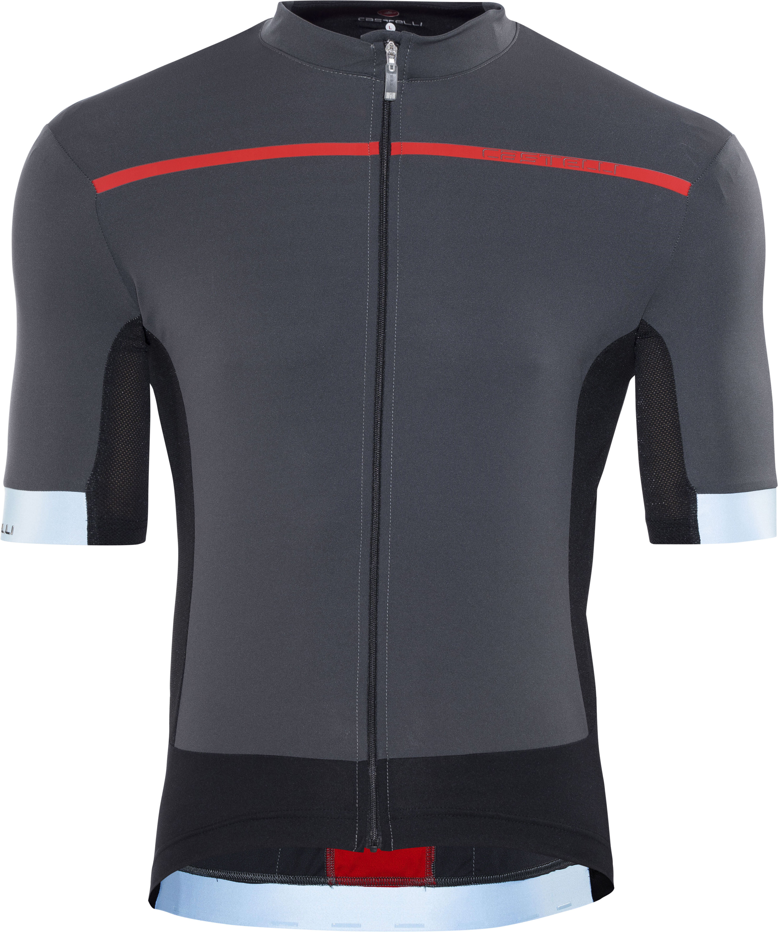 Castelli Forza Pro Bike Jersey Shortsleeve Men grey red at Bikester ... 0067d2fc4